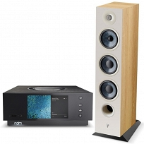 Naim Uniti Atom + Focal Chora 826 (lightwood)