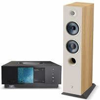 Naim Uniti Atom + Focal Chora 816 (lightwood)